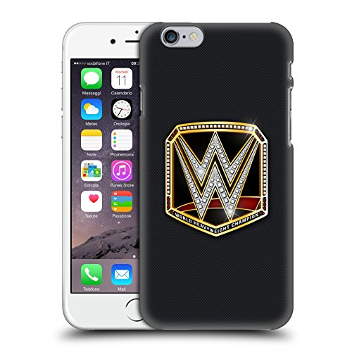 Head Case Designs Officially Licensed WWE World Heavyweight Champion Title Belts Hard Back Case Compatible with Apple iPhone 6 / iPhone 6s