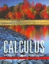 By Deborah Hughes-Hallett - Calculus: Single and Multivariable: 5th (fifth) Edition