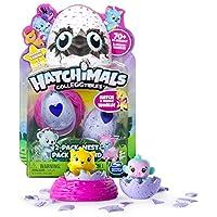 Confezione da 2 uova Hatchimals e un nido Espressioni e design unici Oltre 70 personaggi da collezionare Carta collezionabile inclusa