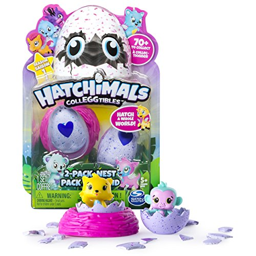 HATCHIMALS- Figurine - Hatchimal Set de 2, 2 Unidades (SPIN Master SPN6034164)