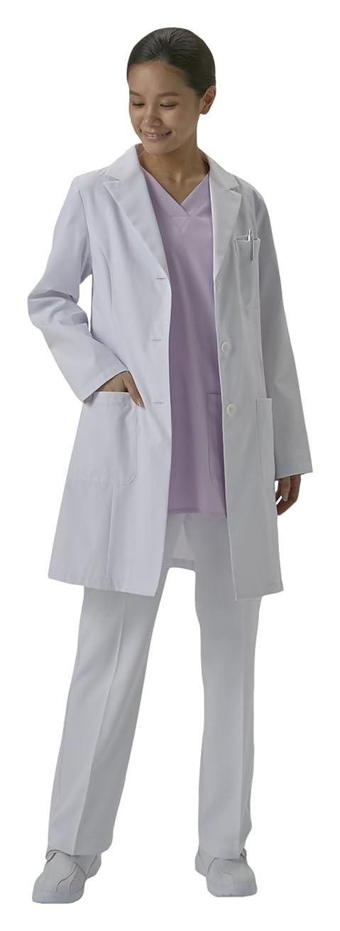 不承認モッキンバード腹部ドクターコート ショート丈 CO-6008 女性用 EL オンワード 白衣