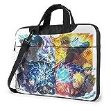 Customized Cool Elastic 15.6 Inch Naruto Anime Laptop Bag Portable Laptop Shoulder Messenger Bag Briefcase Bag Case Sleeve Handbag For Macbook Women With Adjustable Strap