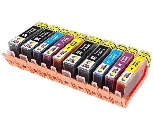 TONER EXPERTE® Sostituzione per HP 364 364XL 10 Cartucce d'inchiostro compatibili con HP Photosmart 5510 5515 5520 6510 6520 B110a B209a B210a Deskjet 3070A 3520 Officejet 4610 4620   Alta Capacità