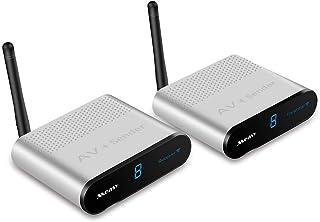 Transmisor de Audio inalámbrico measy AV230 2.4 GHz 8 Canales transmisor de Audio y vídeo inalámbrico de hasta 300 m AV Se...