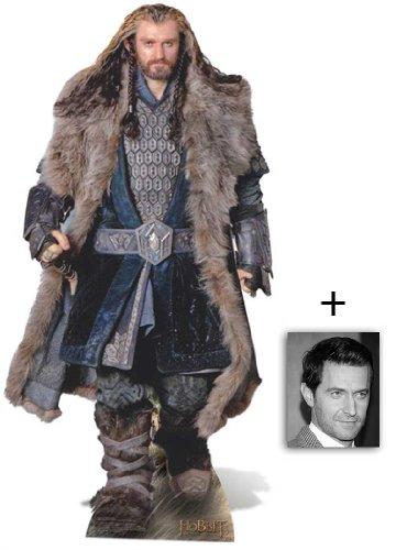 Thorin Oakenshield (Richard Armitage) Lebensgrosse Pappfiguren / Stehplatzinhaber / Aufsteller - The Hobbit - Enthält 8X10 (25X20Cm) starfoto