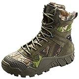 FREE SOLDIER Chaussures High-Top Militaire pour Homme Tactique Bottes de randonnée...