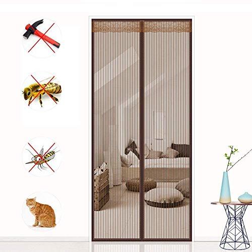 Hongmeil vliegengaas, waterdicht, stuurwiel, insecten, sterke magneet, net voor ramen, woonkamer, instelling van de houder voor balkon