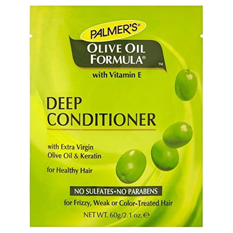 ダニ見分ける嵐のPalmer's Olive Oil Formula Deep Conditioner Protein Pack 60g (Pack of 6) - パーマーのオリーブオイル式深いコンディショナータンパク質パック60グラム x6 [並行輸入品]