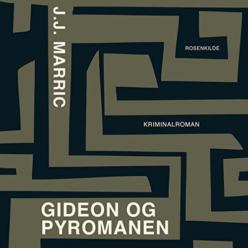 Gideon og pyromanen audiobook cover art