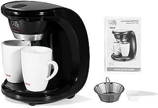 CHERIST 450W Household Electric Drip Coffee Maker Auto Dual Cup Coffee Dual-use American Coffee Tea 110V/220V