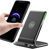 INIU Wireless Charger, 15W Qi-Certified Fast Wireless Charging Stand with...