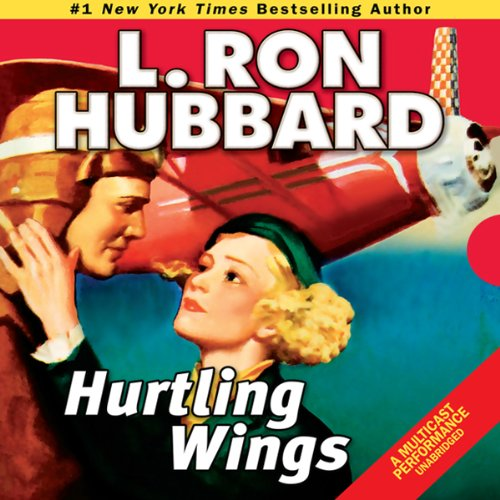 Hurtling Wings audiobook cover art