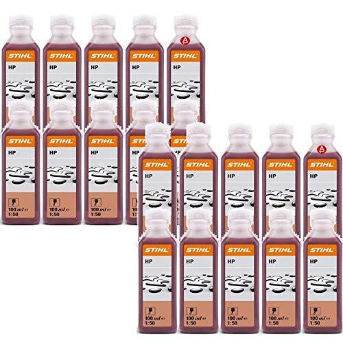Stihl Zweitaktöl, 20 Flaschen à 100ml 1 Box mit 20 x 0781 319 8401