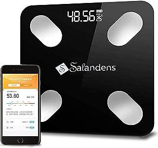 La escala de Salandens puede medir la grasa corporal. El analizador digital de composición del cuerpo humano, la báscula d...