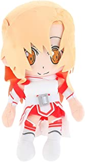 Bowinr Sword Art Online Plush Toy, 12 inch Anime Characters Plush Doll Lovely Throw Pillow for Home Sofa Decor(Asuna)