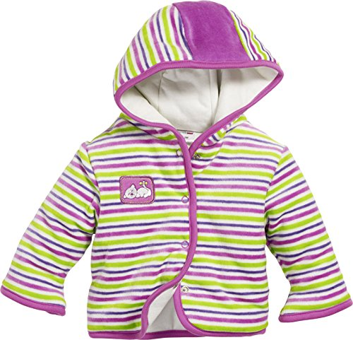 Schnizler Nicki Striped - Blouson - Bébé fille, Multicolore (Original), 2 mois