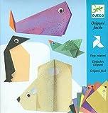 Djeco Animals O Juego de Origami Adecuado para Animales Polares, multicolor (DJ08777)