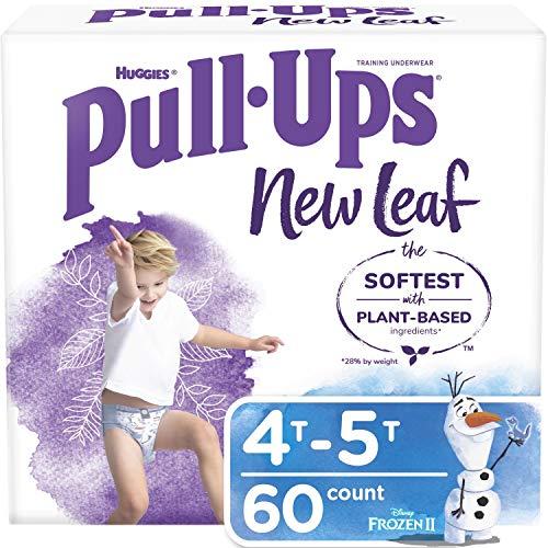 Pull-Ups New Leaf Boys' Training Pants, 4T-5T, 60 Ct
