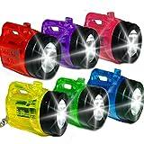 German Trendseller - 12 x LED mini linternas┃caminata nocturna ┃con batería┃fiestas infantiles┃ idea de regalo┃cumpleaños de niños┃ 12 unidades