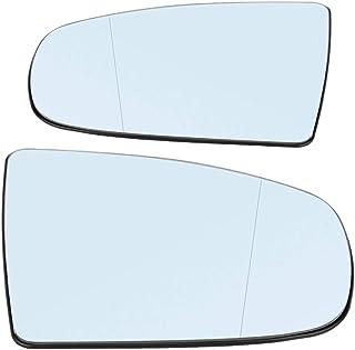 IUASNZ Copertura dello specchietto retrovisore Nero Stile M Guarda la Copertura dello specchietto retrovisore per BMW X3 G01 X4 G02 X5 G05 X6 G06 X7 G07 2018 2019 2020