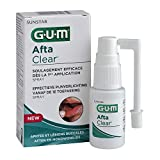 Gum Afta Clear Spray, Sunstar Italiana, Trattamento Afte e Lesioni della Bocca, 15 ml