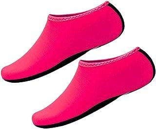 Aisoway, Aqua Calcetines De Agua Zapatos Calcetines Yoga Descalzas De Secado Rápido Zapatos De La Resaca De Natación Para El Snorkel Kayak Surf Baño Vela Buceo Hombres De Las Mujeres