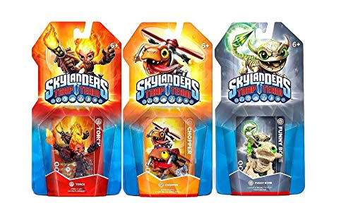 Skylanders Trap Team 3 Pack: Torch, Chopper, Funny Bone