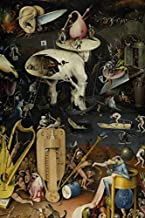 Hieronymus Bosch Journal #9: Cool Artist Gifts - The Garden of Earthly Delights Hieronymus Bosch Notebook Journal To Write In 6x9