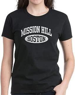 CafePress Mission Hill Boston Women's Dark T Cotton T-Shirt