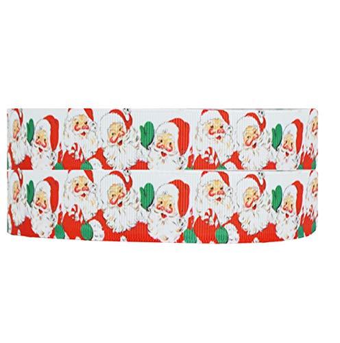Weihnachtsdekoration Schneemann Olaf Design CANDY CANE 2 M x 22 mm Ripsband FOR CHRISTMAS Kuchen Torten'S Karten Basteln Geschenkpapier Packpapier RIBBON Haarschleifen XM17