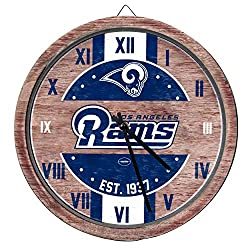 FOCO Los Angeles Rams NFL Barrel Wall Clock