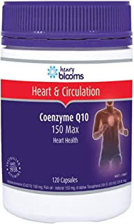 Henry Blooms CoEnzyme Q10 150 Max Heart Health 120 Capsules