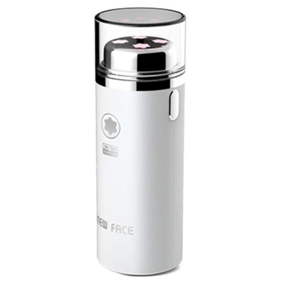 ページ消費する脱走エラニューフェイスガルバニックマイクロ振動イオンスキンマッサージャーEFM-2500ホワイト Elra New Face Galvanic Micro Vibration Ion Skin Massager EFM-2500 White [並行輸入品]