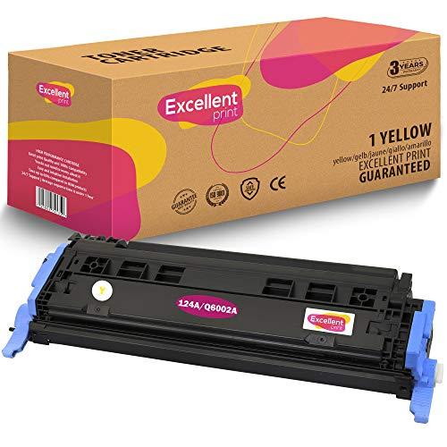 Excellent Print Q6000A Q6001A Q6003A Q6002A 124A CRG-707 Kompatibel Tonerkartusche für HP Colour Laserjet 1600 2600 2600n 2605dn