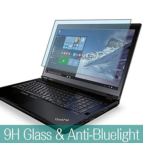 VacFun Filtro Luz Azul Vidrio Templado Protector de Pantalla para Lenovo ThinkPad P70 17.3' Visible Area, 9H Cristal Screen Protector Anti Blue Light Filter Película Protectora(Cobertura no Completa)