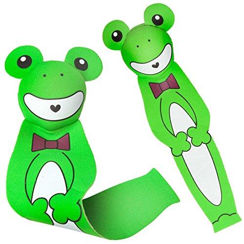#DoYourSwimming Tauchspielzeug aus Neopren mit Sand befüllt, ideale Schwimmhilfe BZW. Tauchhilfe für Kinder. Das Wasserspielzeug eignet Sich fürs Freibad, Schwimmbad, See oder das Meer Frosch