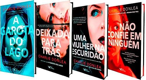 Kit A Garota do Lago 4 Volumes