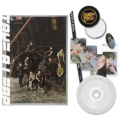GOLDEN CHILD 4th Mini Album - TAKE A LEAP [ A ver. ] CD + Booklet + Special Card + Phone Strap + Remover Sticker + Photocard + FREE GIFT / K-POP Sealed