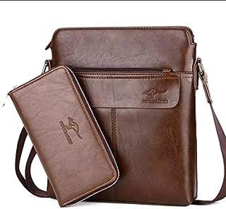 KANGAROO Bag For Unisex,Brown - Shoulder Bags