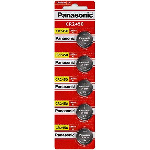 Bottone Litio Panasonic Cr2450 (3 V, Nella Confezione Vista Di)