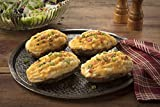 Eight Ounce Gourmet Twice Baked Potatoes Super Stuffed with Fresh Sour Cream, Cheddar, Bacon Butter and Chives Pefect Side Dish for any Smokehouse Steak or Ribs Pair with any Burgers' Smokehouse hickory smoked poultry tiem for a luxurious meal