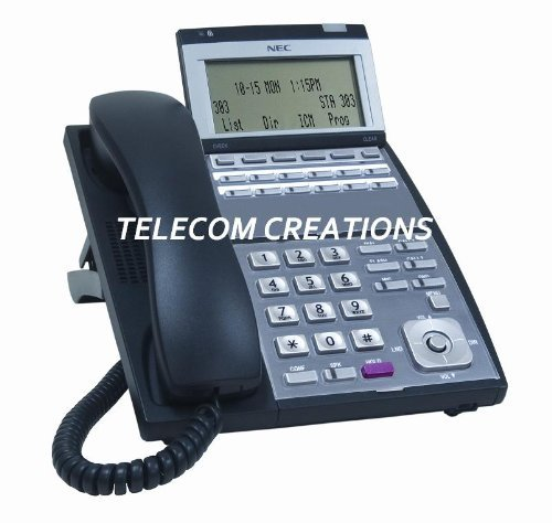 NEC UX5000 IP-12e ~ IP 12-Button Display Phone Black Part# 0910064 IP3NA-12TIXH