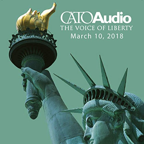 CatoAudio, March 2018 audiobook cover art