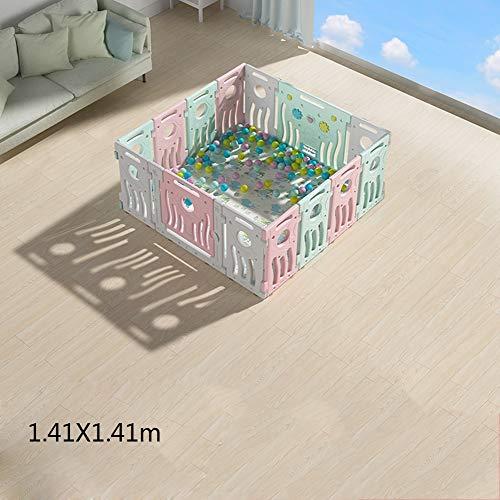 MYMAO 01Children's baby speelhek, baby crawling mat peuter guardrail veiligheid hek huis indoor speeltuin