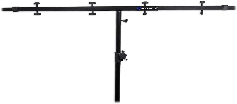 Rockville Colorado Springs Mall RCS52 Universal Lighting Cross Stand Adjustable fr Bar High quality new