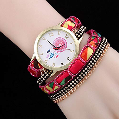 TOWQEM Design Casual Uhren Leder Armband Uhr Frauen armbanduhren Damen Vintage quarzuhrrot