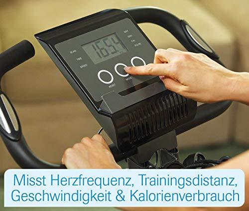 Mediashop Slim Cycle Heimtrainer, Liegefahrrad und Oberkörper-Trainer | zusammenklappbar | Radfahren und Ruderbewegung für effektives Kardio- & Krafttraining | Das Original aus dem TV - 7