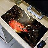 KOEWSN Alfombrilla De Ratón Gaming Grande 700X300mm Mouse Pad Gaming XL Elfos De Anime Jugando Al Billar Patrón Estera Del Escritorio De Oficina Superficie Suave Resistente Al Agua Para Gamers, Pc Y P