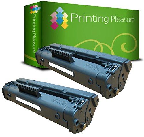 Printing Pleasure C4092A 92A Tóner Compatible con HP Laserjet 1100, 1100A, 1100A SE, 1100A XI, 1100SE, 1100XI, 3200, 3200M, 3200 SE, 3200 XI