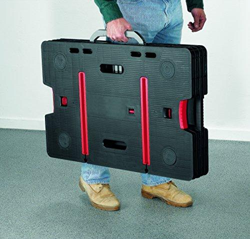 Keter 17182239  Werkzeugbank Master Pro Serie Folding Work Table,  Kunststoff, schwarz / gelb - 7